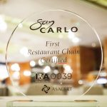San Carlo Restaurants are the first in the UK to be achieve ITA0039 and be certified 100% Italian