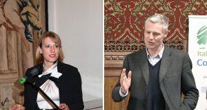 Jill Morris e Zac Goldsmith